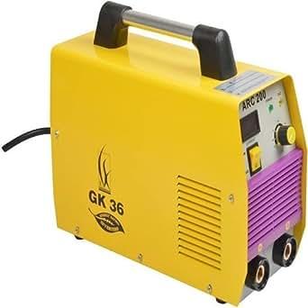 GK36 ARC200 Welding Machine with Standard Accessories, 200 Amps