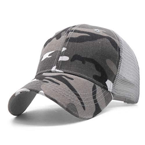 JKYJYJ Digital Männer Baseballmützen Armee Taktische Camouflage Cap Outdoor Dschungel Jagd Snapback Hut Für Frauen Knochen Papa Hut (Digital Camo-hut)