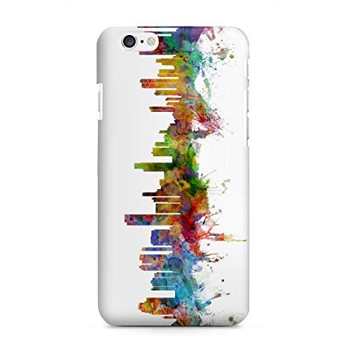 artboxONE Apple iPhone 6 Premium-Case Handyhülle Honolulu Hawaii Watercolor von Michael Tompsett