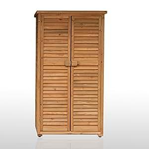 armoire exterieur de rangement pour terrasse et jardin en. Black Bedroom Furniture Sets. Home Design Ideas