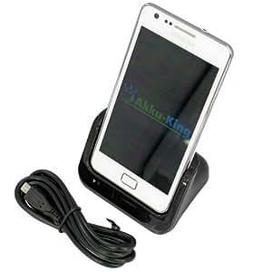 USB-Dockingstation für Samsung Galaxy S2 GT-i9100 / i8520 / i9210 - Ladestation