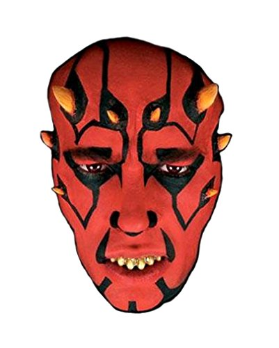 Dornen Applikation (Darth Maul-makeup)