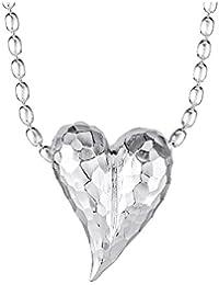 Drachenfels Design Damen-Anhänger Heartbreaker Silber - D HE 33/AG