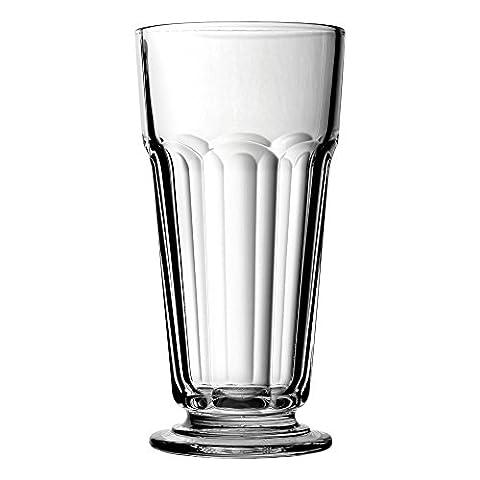 Casablanca Milkshake Glasses 12.25oz / 350ml - Set of 2 - American Style Shake Glasses