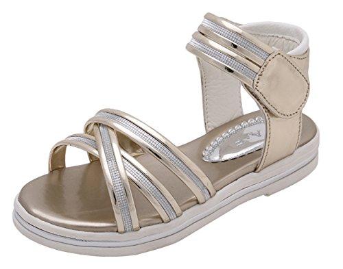Eozy Chaussures Princesse Ballerine Paillette Enfant Bébé Fille Sandales Plat Nœud Chaussure Ville