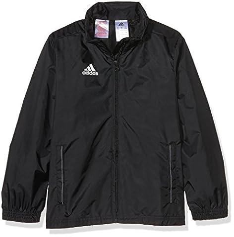 adidas Kinder Jacke/Anoraks Coref rai jkty, schwarz/Weiß, 164, M35321