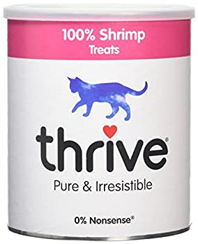 Thrive Friandises pour chat 100 % crevette Tube XL