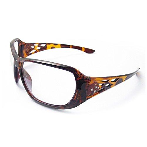 ERB Sicherheit Produkte Artikelnummer 17956Rose Schildpatt Frame, Clear Lens, One size, Braun