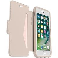 Otterbox Strada Etui en Cuir véritable Antichoc Fin / élégantpour iPhone 7 / 8 Blanc