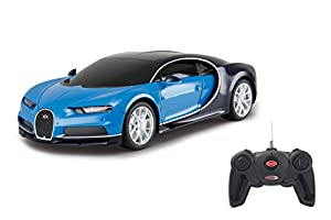 Jamara- Bugatti Chiron 1:24, Color Azul (405137)