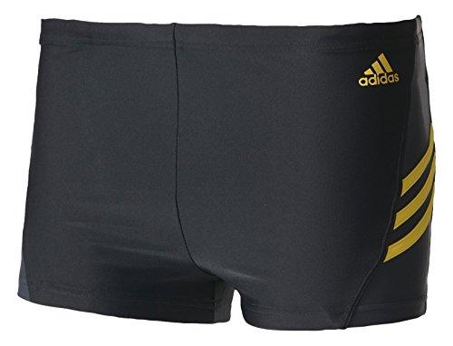 adidas Herren Inspiration Badeshorts, Black/Bright Yellow, 4 Preisvergleich