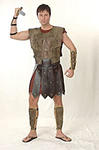 Warrior Man - Mens Adult Costume - One Size (disfraz)