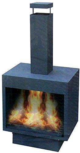Terrassenkamin, Feuerkorb, Feuerschale, Ofen, Kamin! Höhe: 120cm
