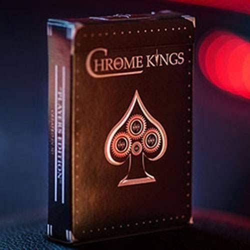 SOLOMAGIA Chrome Kings Limited Edition Playing Cards (Players Edition) by De'vo vom Schattenreich and Handlordz - Tours de Cartes - Tours et Magie Magique | En Gros