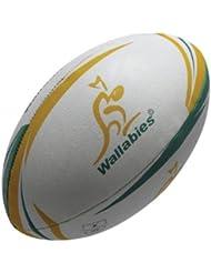 Australia Wallabies Official Replica Mini Rugby Ball - White