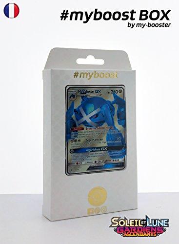 Coffret #myboost METALOSSE GX 139/145 - Soleil et Lune 2 Gardiens Ascendants - 10 cartes Pokemon francaises