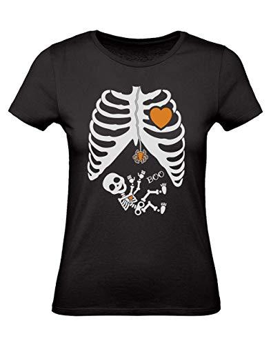 Camiseta Mujer -Pregnant Skeleton Xray - Embarazadas