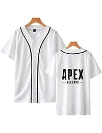 Neborn Apex legendas Suelto de Manga Corta Camiseta de béisbol de Las  Mujeres los Hombres 1b7891ba1d3