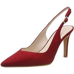 lodi RAIAN, Zapatos de tacón con Punta Cerrada para Mujer, Rojo Tristan, 40 EU
