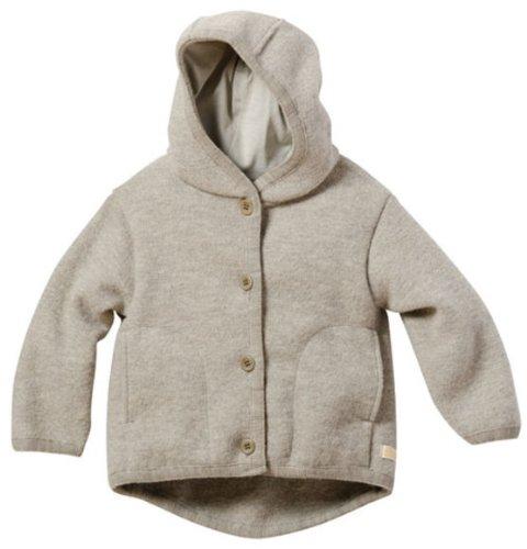 Disana 32310XX - Walk-Jacke Wolle grau, Size / Größe:86/92 (1-2 Jahre)