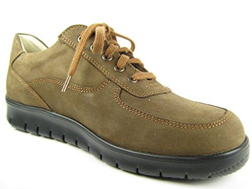 FinnComfort TURKU 1354260233 hommes Chaussures à lacets bois