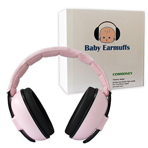 Casque Anti Bruit Enfant Protection Auditive Pour Les Bébés et les Enfants Des Bébés de 3 mois Jusqu'aux Enfants de 2 ans ou Plus Vieux