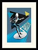 1art1 115519 Die Unglaublichen - 2, Lucius Best, Frozone Gerahmtes Poster Für Fans und Sammler 40 x 30 cm