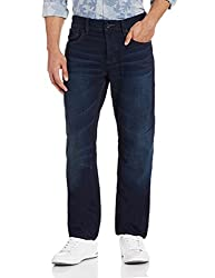 Superdry Mens Relaxed Fit Jeans (5054265624940_M70001KNF4_32W x 32L_Blue Blue)