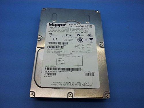 0G8763 - 73 GB Dell G8763 Maxtor ATLAS 10 K 8J073S0 8J073S0028854 0G8763 SAS SCSI Festplatte -