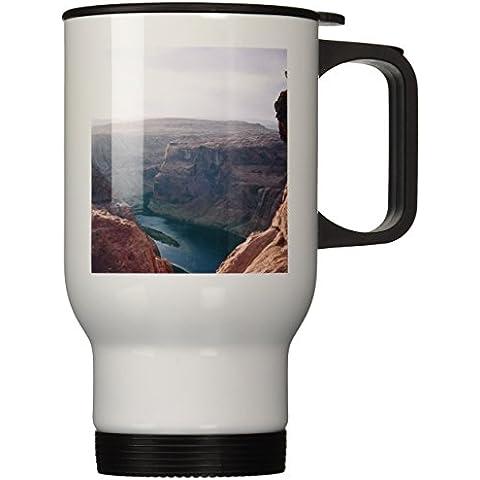 3dRose tm_88017_1 Arizona fiume Colorado, a forma di ferro di cavallo