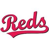 Cincinnati Reds Logo MLB Baseball De Haute Qualite Pare-Chocs Automobiles Autocollant 12 x 8 cm