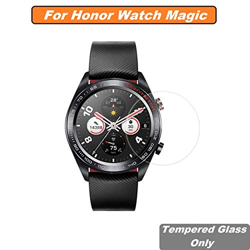 Iloft High Definition Ultra Clear Tempered Glass Screen Protector for Huawei Honor Watch **** Smartwatch (Pack of 1)