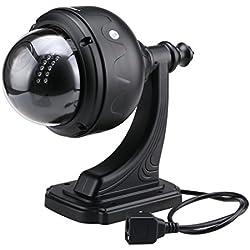 Sricam SP015 720P Dome IP Kamera Wlan Überwachungskamera Pan/Tile P2P H.264 Outdoor IP Cam IR-CUT 22 IR LED Nachtsicht CCTV Sicherheitskamera Wasserdicht Email Alarm Schwarz