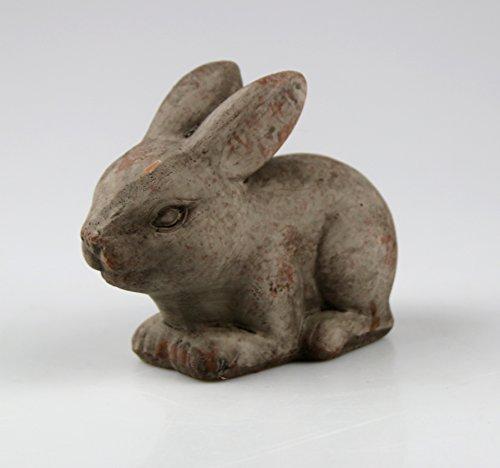 AM-Design Hase grau Terrakotta 10 cm