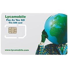 Prepaid Sim Karte Telefonie...