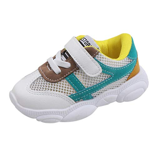 QinMM Baby Boy Girl Canvas Kinder Sportschuhe Rutschfeste Erste Wanderer Candy Schuhe Atmungsaktiv Laufschuhe (Girl Baby-dusche-candy)