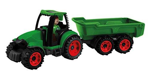 Lena-01625 Tracteur avec remorque, 01625, Vert