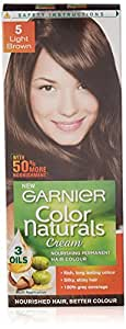 Garnier Color Naturals Shade 5 Light Brown, 70ml + 40g