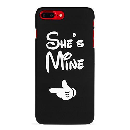 Cuitan Couples PC Givré Difficile Housse Case pour Apple iPhone 5 /5s /se, He's Mine Désign Anti-Rayures Retour Housse Back Cover Protecteur Etui Coque Cover Shell pour iPhone 5 /5s /se She's Mine/Elle est à moi