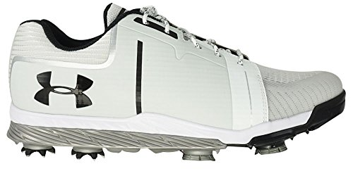 Under Armour Men's Tempo Sport Golf Spikes White/Metallic...