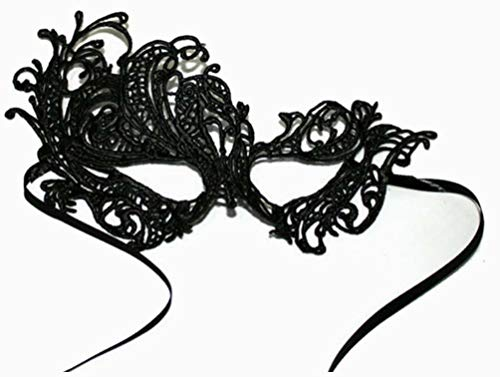 Xiton Frauen Sexy Lace Halloweenmaske für Maskerade Party, Hochzeiten, Karneval, anonyme venezianischen Karnevalsmaske und Tanz, Phoenix-Stil