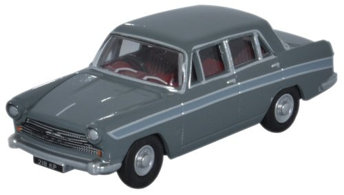 oxford-diecast-76acf004-austin-cambridge-farina-grampian-grey-cumulus-grey-gaydon