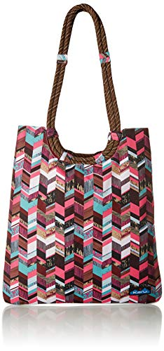 KAVU Damen Market Bag, Damen, Market Bag, Sunset Blocks, One Size -