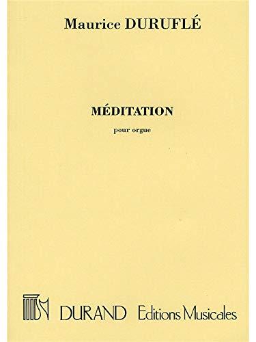 Méditation Orgue