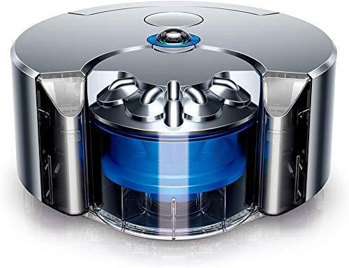 8bayfa Meyeye Dyson RB01 NB 360 Eye (Nickel/Blau) -Twice Die Absaugung von Jedem Roboter Vakuum, 160 W