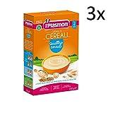 3x PLASMON Crema Cereali Kinder Babynahrung ab 4 Monaten 230 gr italienische