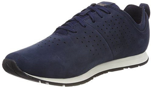 Timberland Retro Runner, Oxfords Homme Bleu (Black Iris Nubuck 019)