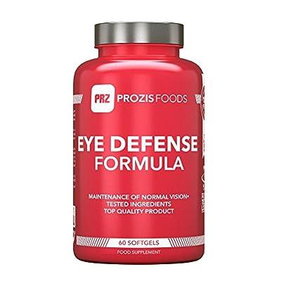 Eye Defence Formula 60 Softgels by Prozis Sport