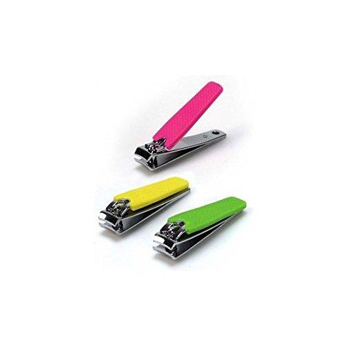 Coupe-ongles couleurs acier inoxydable, MONTY BEAUTY, 5.50 cm
