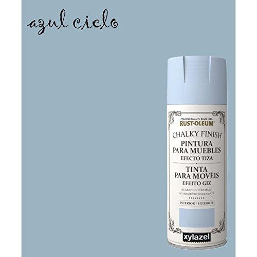 Kreide-Spray Effekt Farbe Rust-Oleum Chalk Xylazel - Blauer Himmel